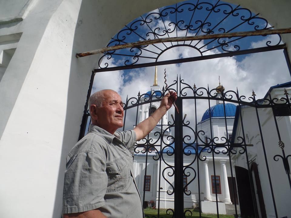 Народный староста храма Алемасов Владимир Александрович  (30.06.2016)