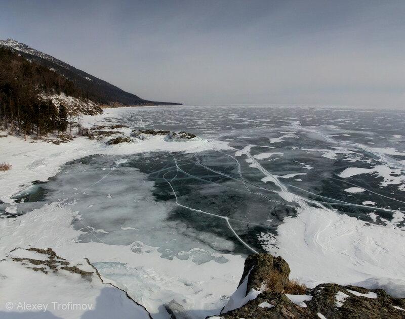 Байкал огромен
