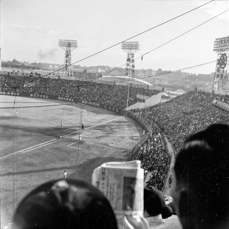 New York Yankees in Japan  vs Japan's Central Pacific All Star Team in Sendai 1955 - 10 of 10