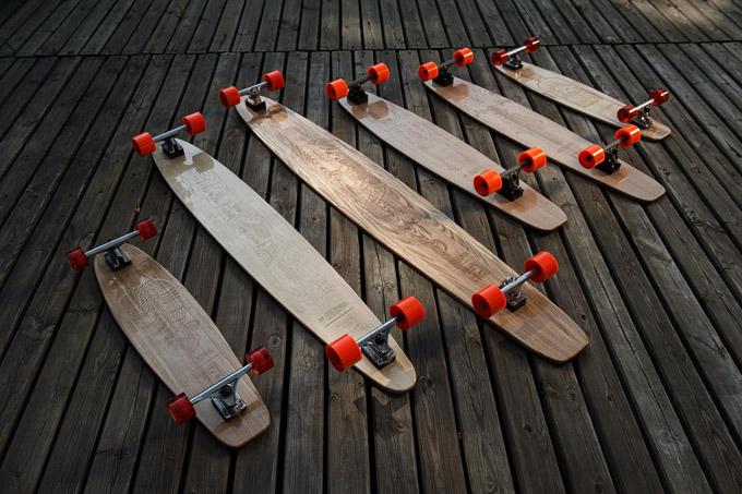 Коллекция лонгбордов Made For Bulleit x Ma Longboards