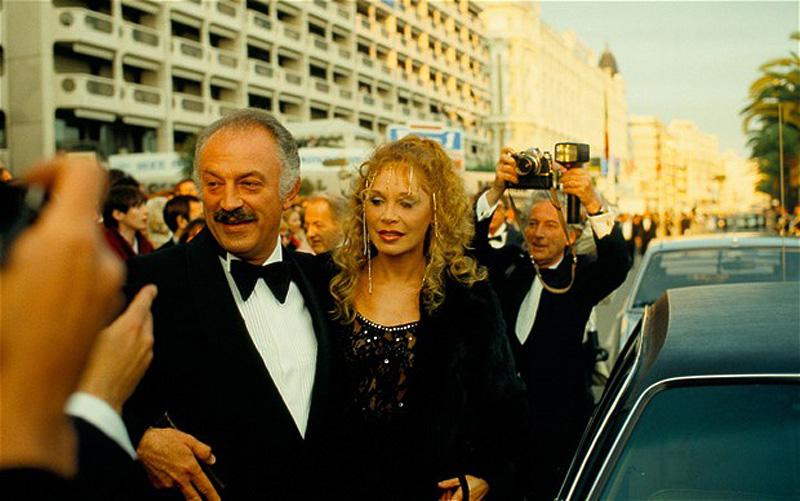 5. Жак Медсан, изображенный на этом снимке во время Каннского кинофестиваля, был французским политик