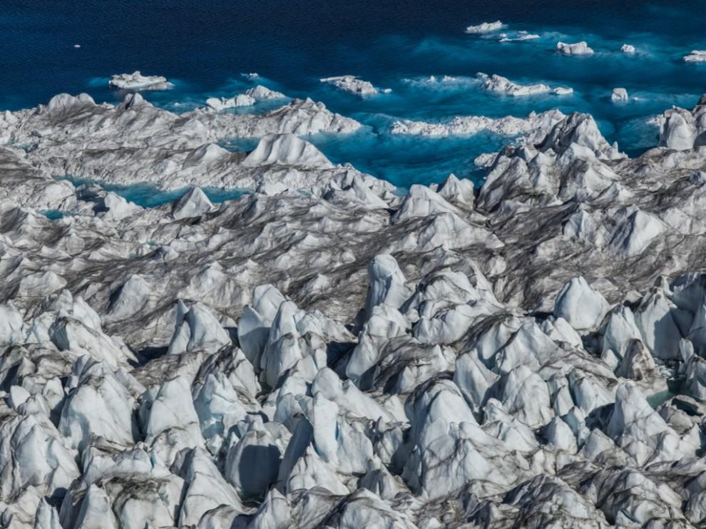 Стремительно тающие ледники Арктики в фотографиях экоактивистки Дианы Тафт