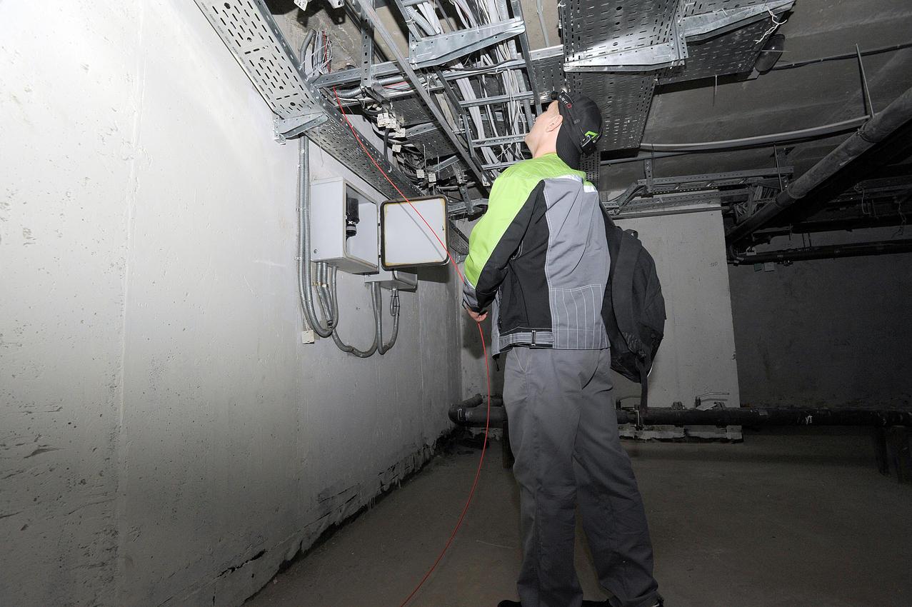 15. В подвале находится оборудование, отвечающее за работу интернета во всем доме.