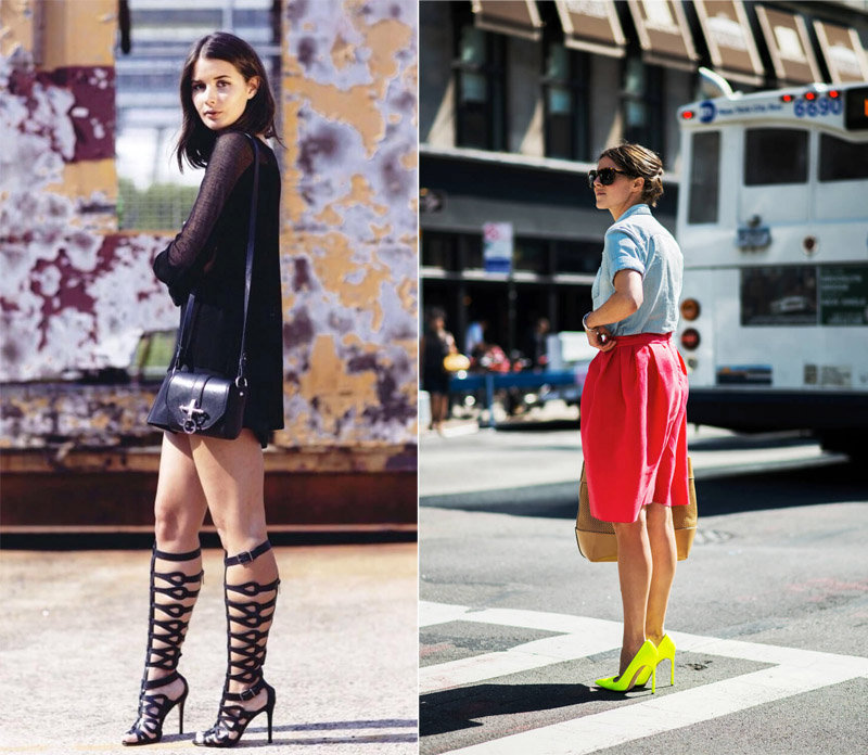 Последние пару лет каждая модница носила летом высокие сандалии со множеством ремешков. В этом г