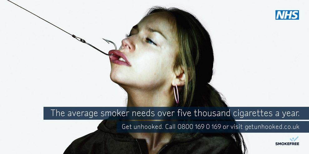 7. Заклинивает секс-машина? Брось курить. Финляндия.