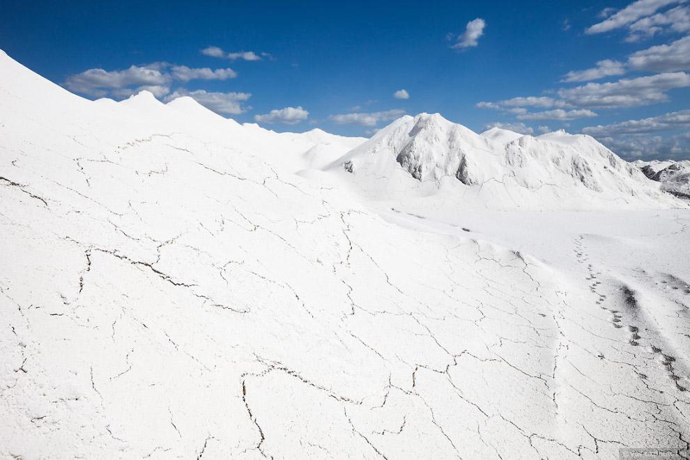 34. Сейчас основной полезный минерал в карьере Стойленского ГОКа — это железистые кварциты. Жел