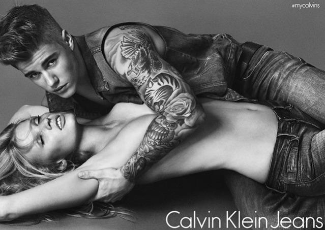 Джастин Бибер снялся для Calvin Klein (5 фото)