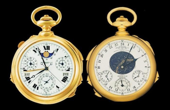 8. Patek Philippe, Henry Graves Jr. Supercomplication Pocket Watch $ 11 млн В 1925 году любитель час