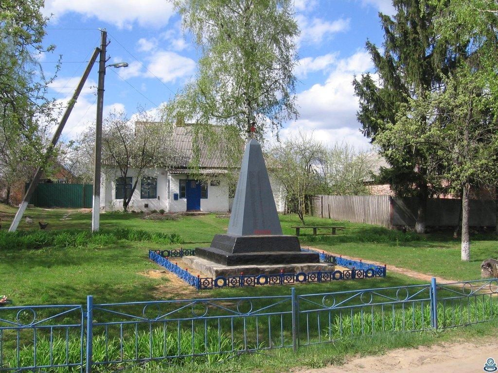 Мемориал в селе Становая.