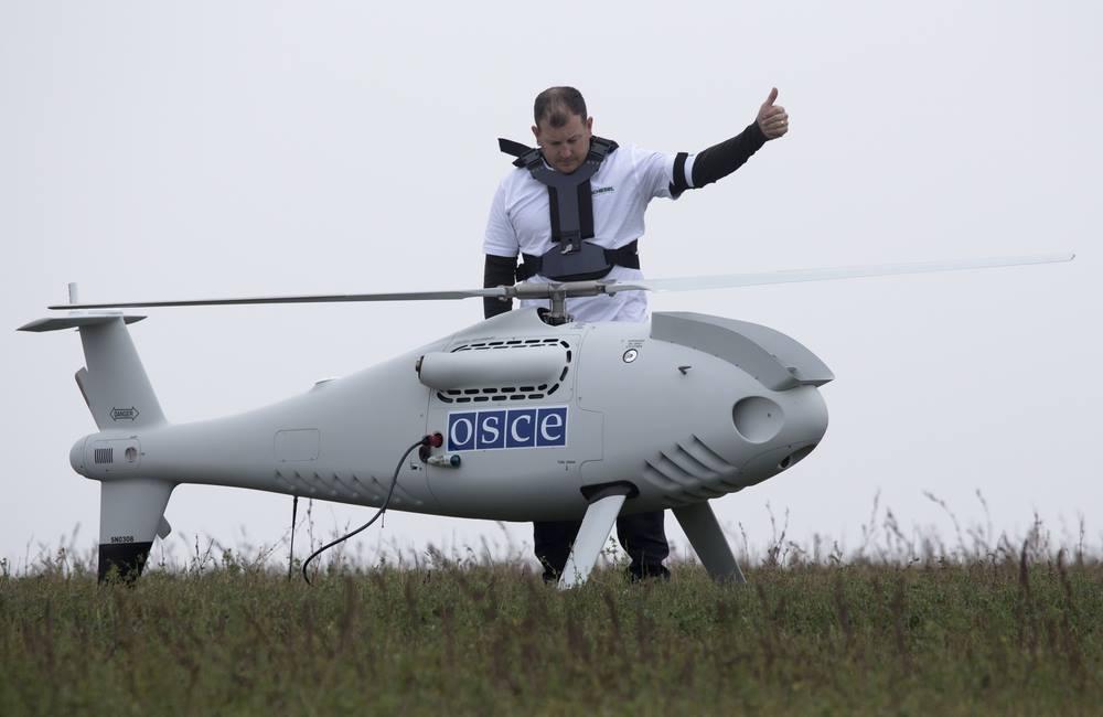 Беспилотники ОБСЕ сбиты навостоке государства Украины российскими системами земля-воздух