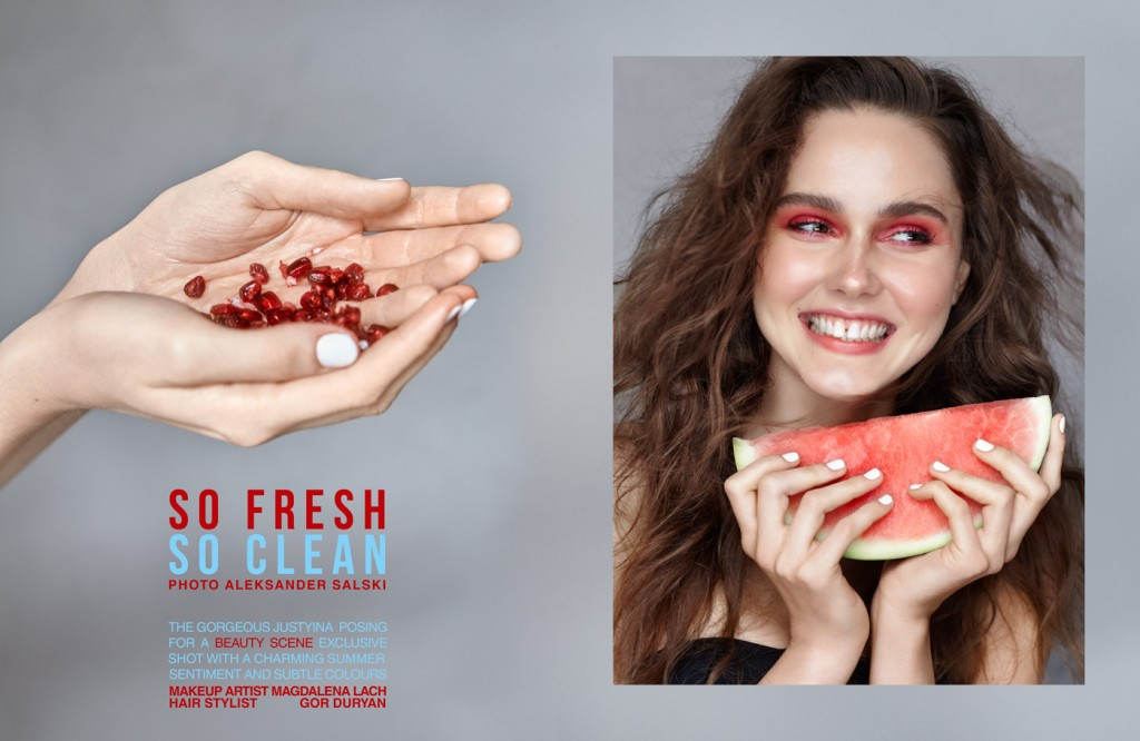 So Fresh So Clean by Aleksander Salski for BEAUTY SCENE