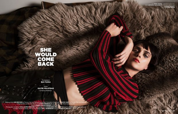 EXCLUSIVE INTERVIEW – TOP MODEL AGNES SOKOLOWSKA FOR DESIGN SCENE (9 pics)