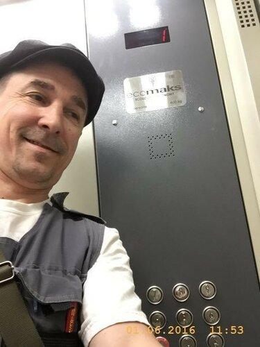 Первый день работы лифта