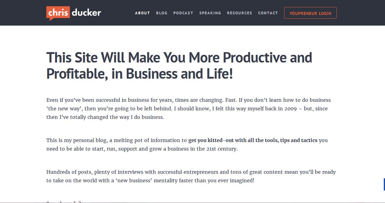 успешный блоггер