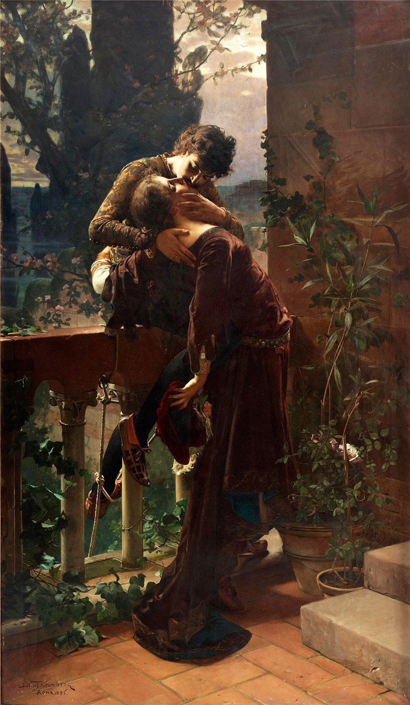 love in romeo and juliet by william shakespeare the short happy life of francis macomber by ernest h