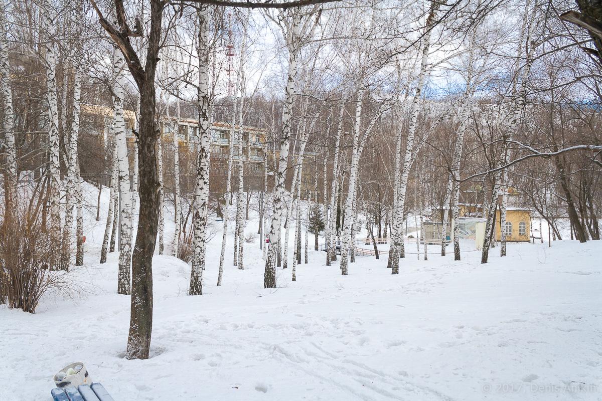 терренкур октябрьское ущелье зима Саратов фото 1