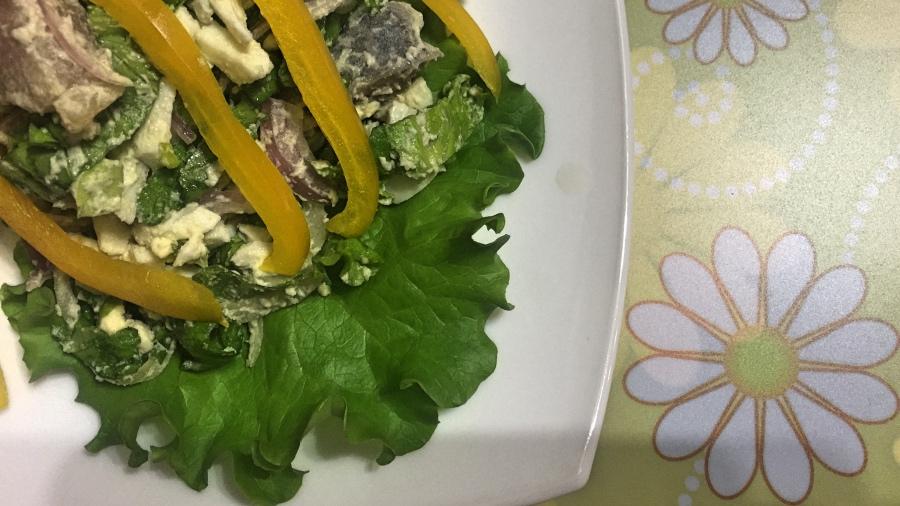 Постпасхальный салат