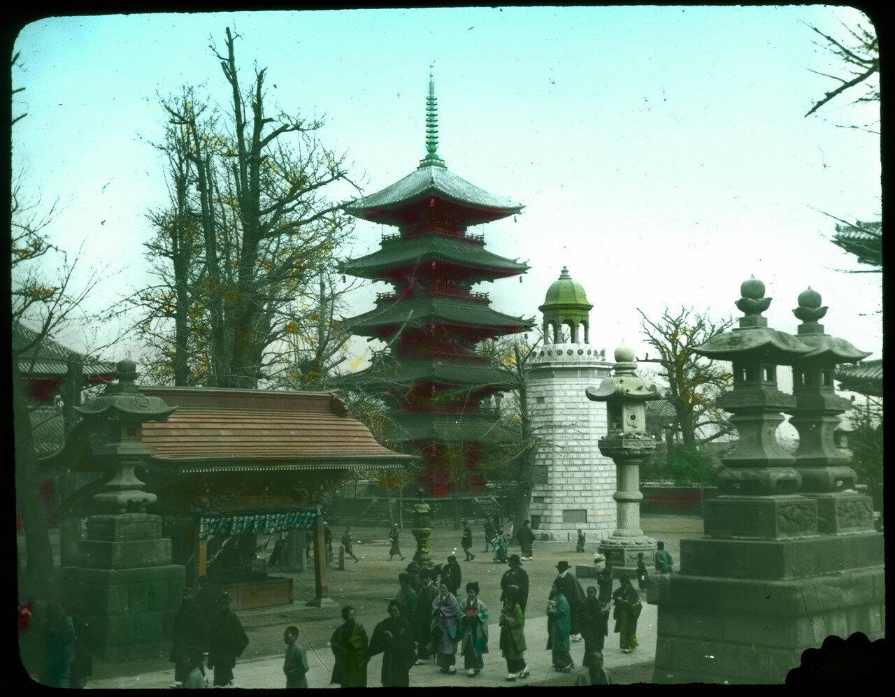 Токио. Асакуса. Храм Сэнсо-дзи