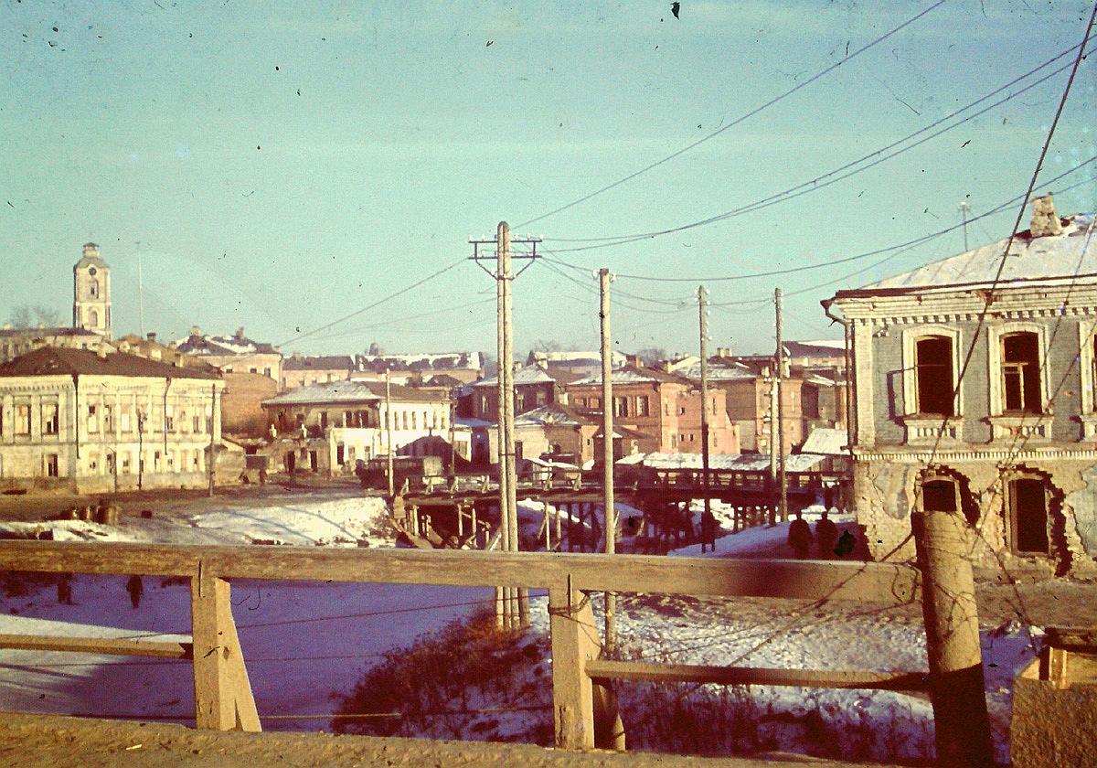 Вязьма. Вид от Смоленского моста