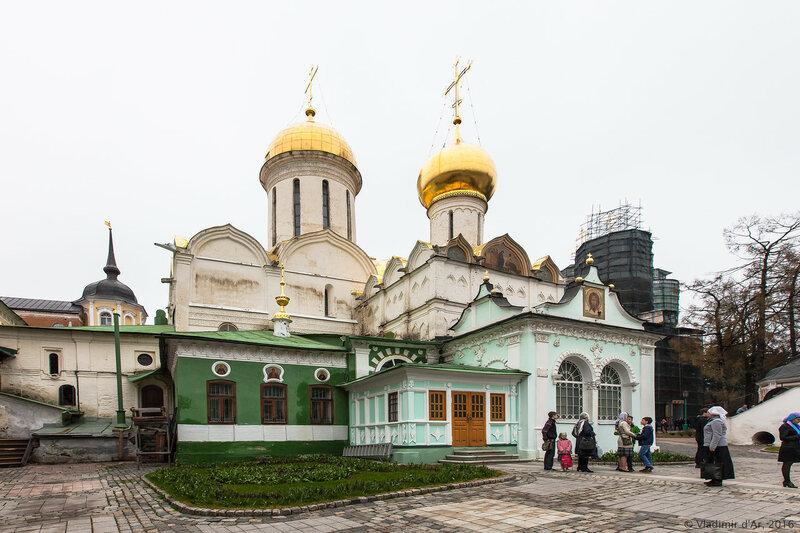 Серапионова палата. Свято-Троицкая Сергиева Лавра.