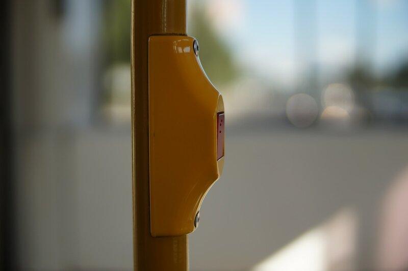Доступный город. Кнопка с информацией для незрячих