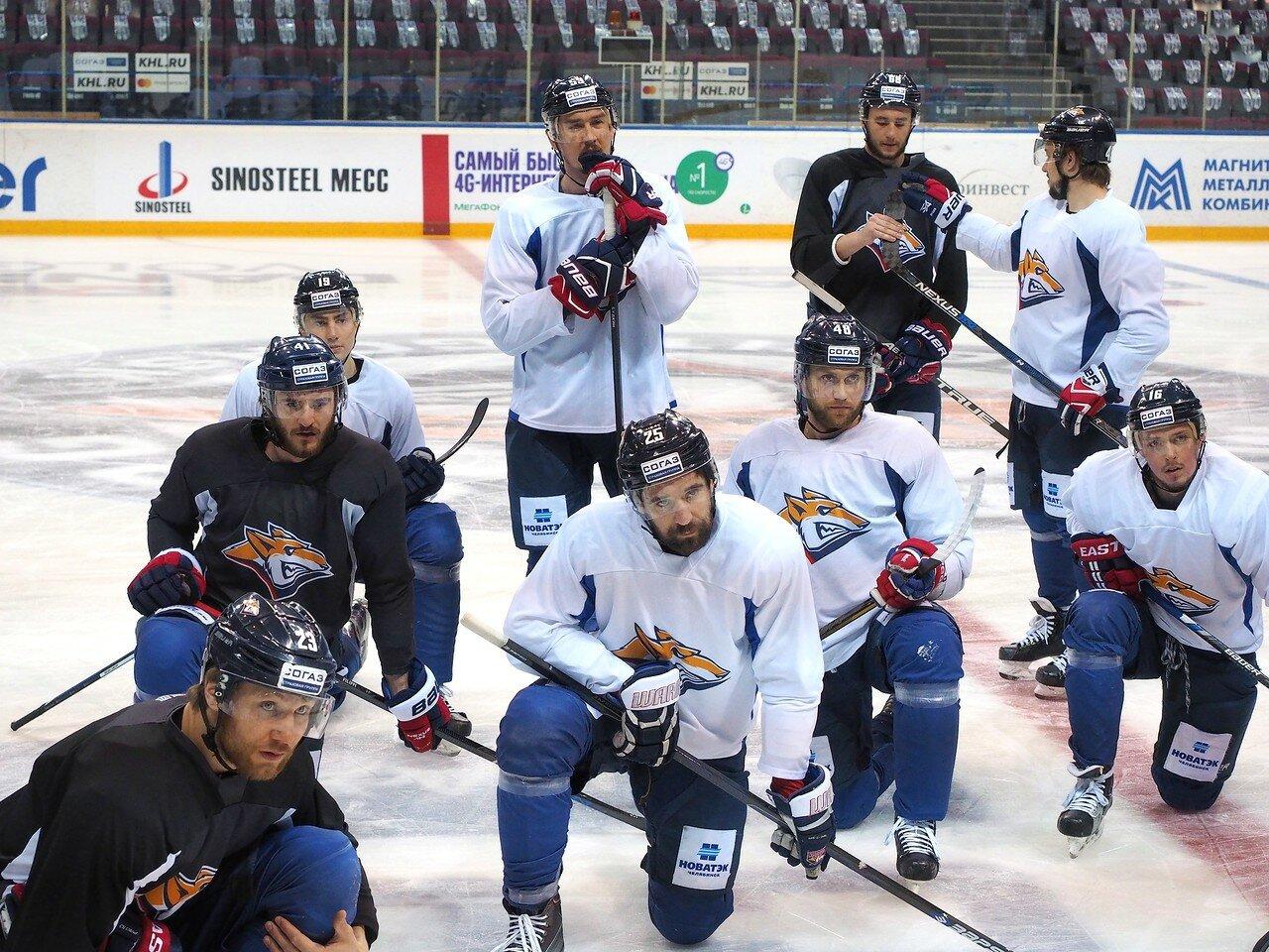 16 Открытая тренировка перед финалом плей-офф КХЛ 2017 06.04.2017