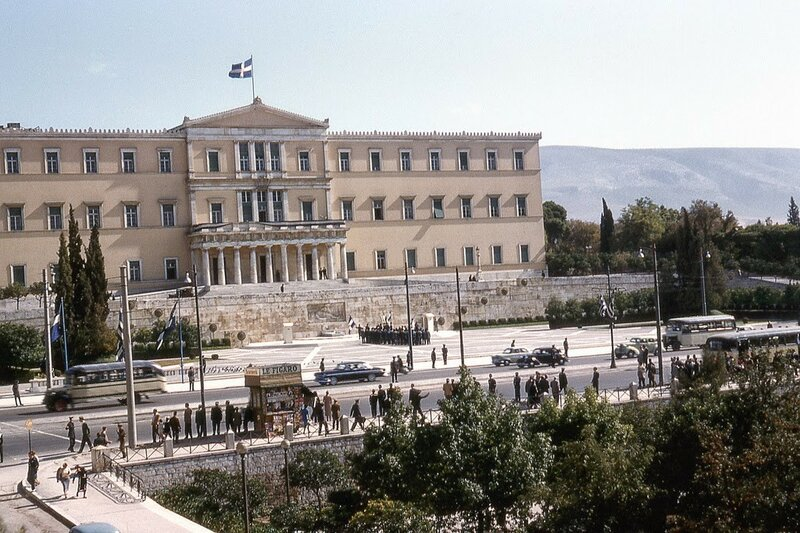 1956 Athens Syntagma by Andrew Baerst.jpg