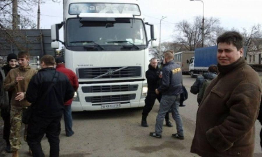 Одесская область присоединилась к блокированию российских грузовиков