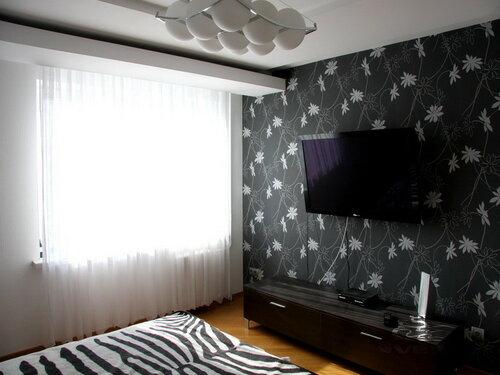 033. спальня,  интерьер