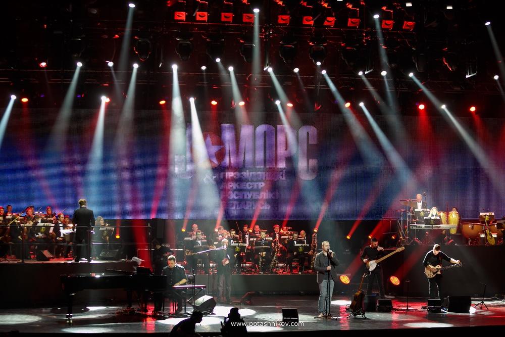 Фотографии с концерта группы J:Морс с Президентским оркестром Республики Беларусь