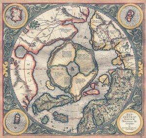 Карта Даарии (Гиперборея) из атласа Меркатора 1595 года.jpg