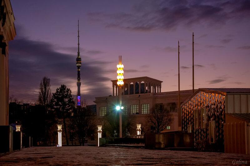 ВДНХ и Останкинская башня