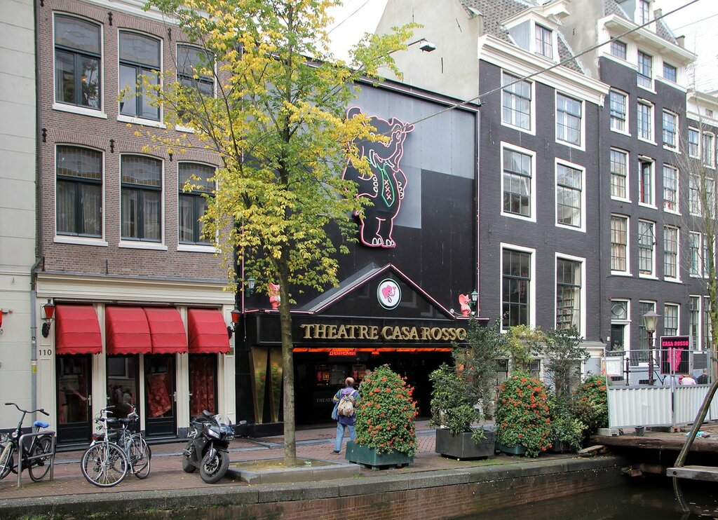 Амстердам, Де Валлен, район красных фонарей