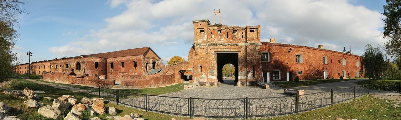 Brest Fortress, Belarus (panorama)