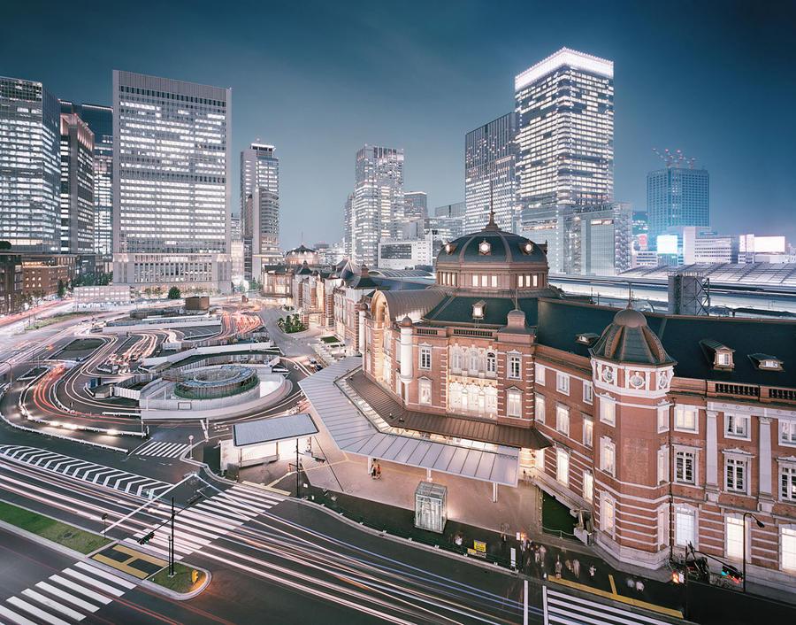 5. Вокзал в Токио, Япония Этот железнодорожный вокзал расположен в бизнес-квартале Маруноти района Т