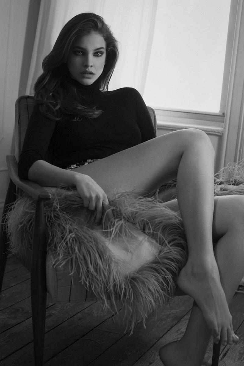 Барбара Палвин в онлайн-издании CR Fashion Book