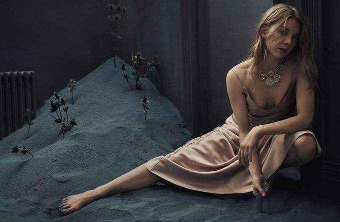 Натали Дормер в Vanity Fair
