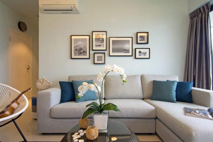 Апартаменты у пляжа в Сингапуре (9 фото)