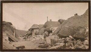 Вид разрушенного форта Гурко.