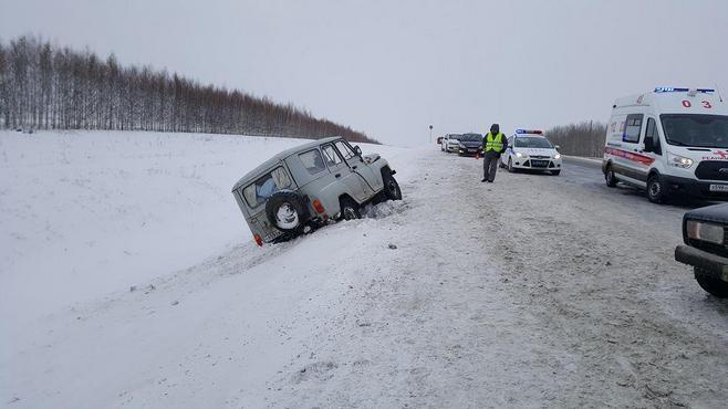 Семь человек погибли вкрупном ДТП вОренбургской области