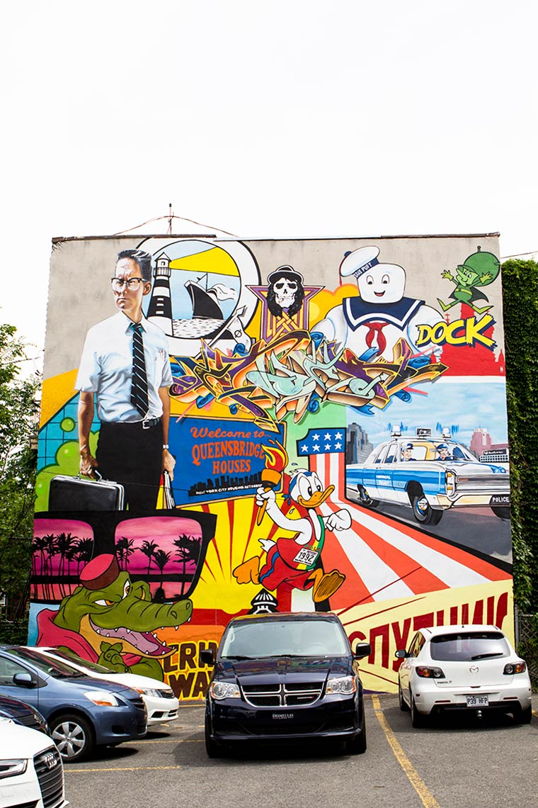 Mural Festival 2015 - A look back on the creations of the street art festival in Montreal