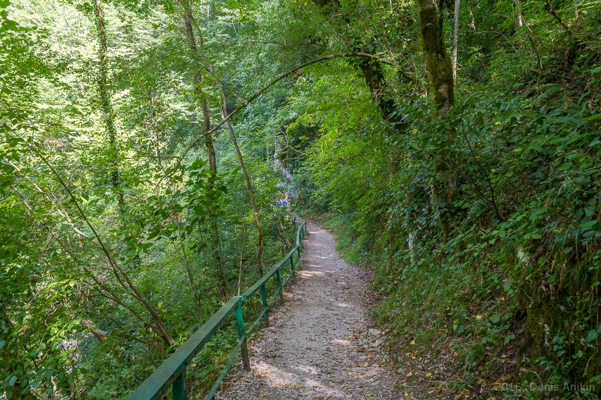 Агурское ущелье, водопады фото 8