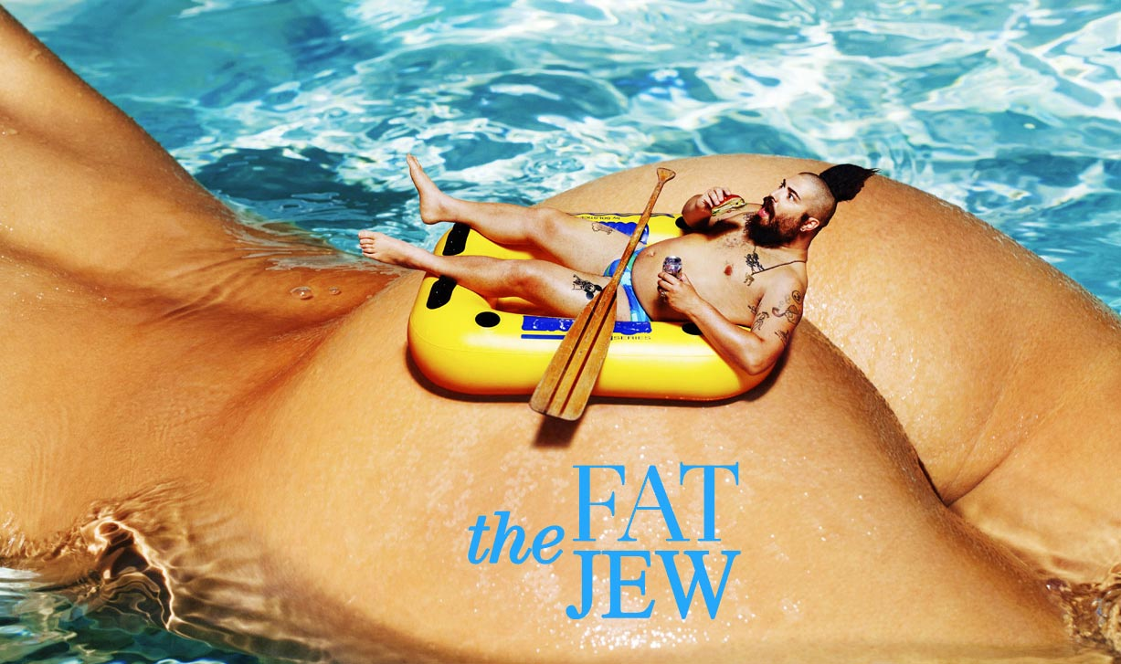 Julia Gall, Lauren Young, Cate Chant, Josh Ostrovsky - The Fat Jew by Tony Kelly - Treats! Magazine issue 11 / summer 2016