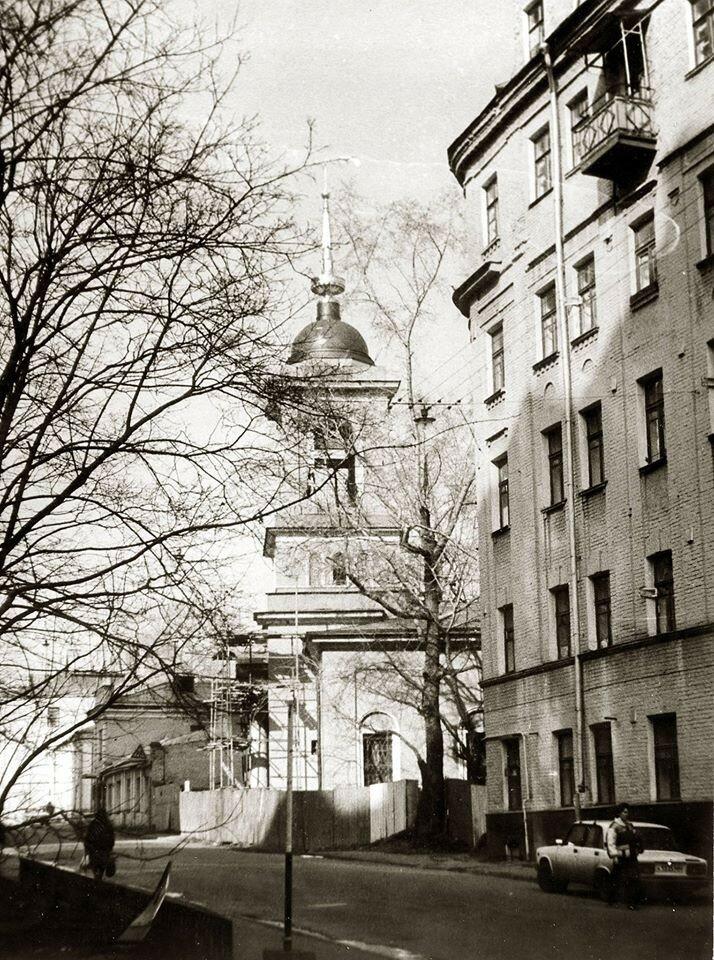 Улица Мясковского (Большой Афанасьевский переулок). А Рубинин
