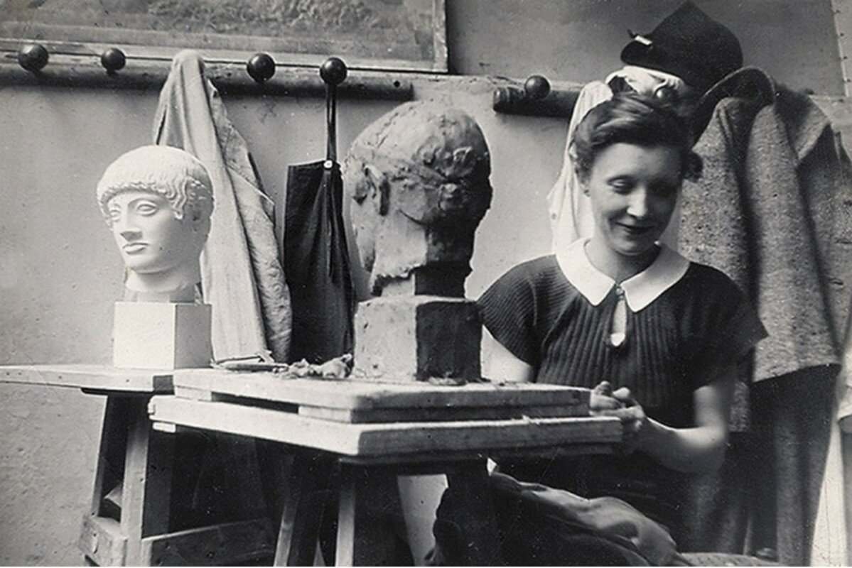 1937. В студии Луизы Буржуа