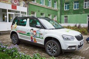 авто,дети,дорога,безопасность,Skoda