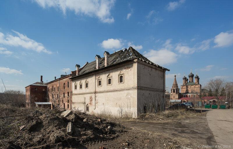 Палаты (Крутицкий казенный приказ). XVII век.