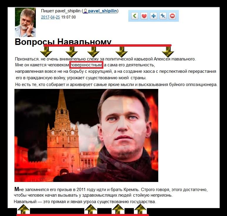 Павел Шипилин, профессиональный тупой и лживый провокатор.