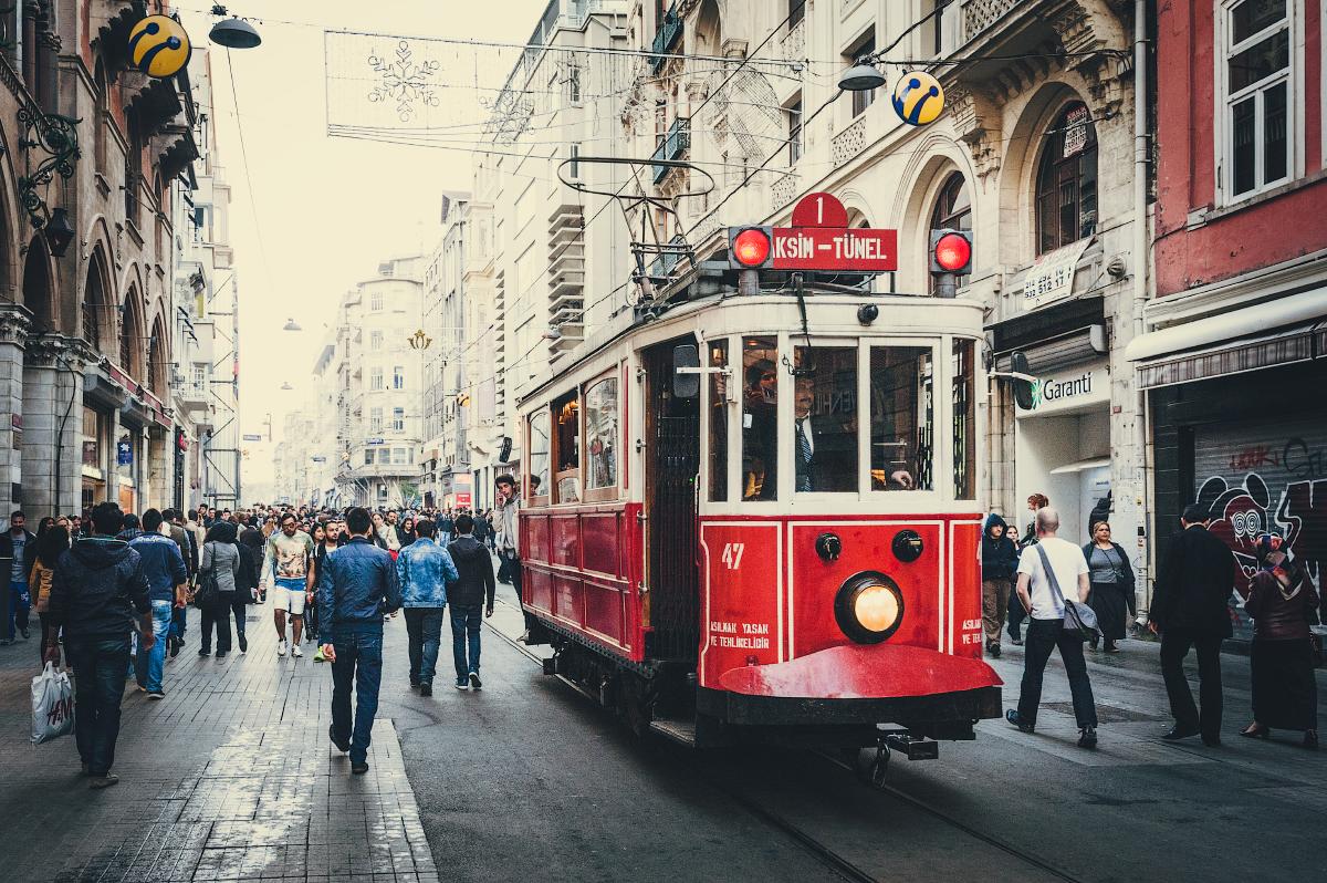 Трамвай. Стамбул. 2014