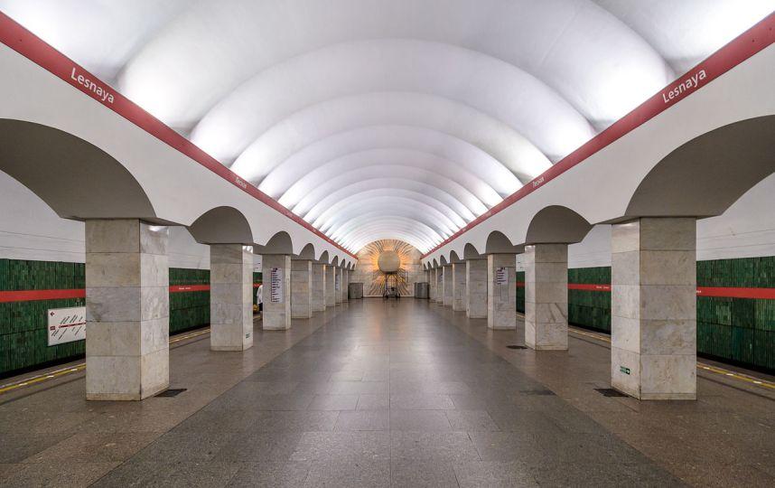Станцию метро «Лесная» закроют в Китайский новый год